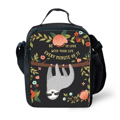 In Love Sloth Lunch Bag