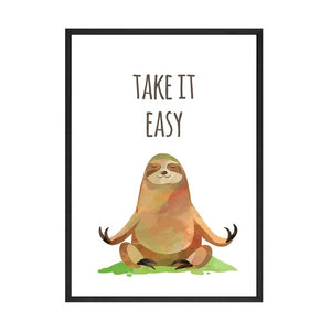 Sloth Easy Poster - Sloth Gift shop