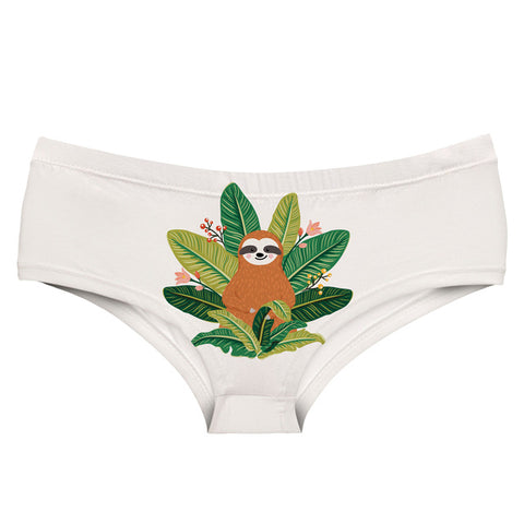 Leaves Chair Underwear - Sloth Gift shop