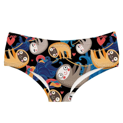 Image of Sloth the Cartoon Underwear - Sloth Gift shop