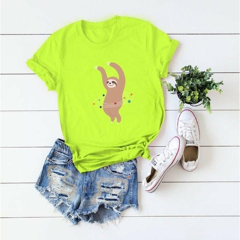 Sloth Dancing T-shirt - Sloth Gift shop