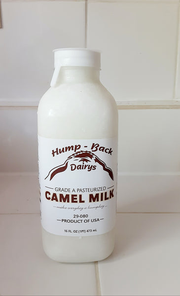 Fresh and frozen Camel milk