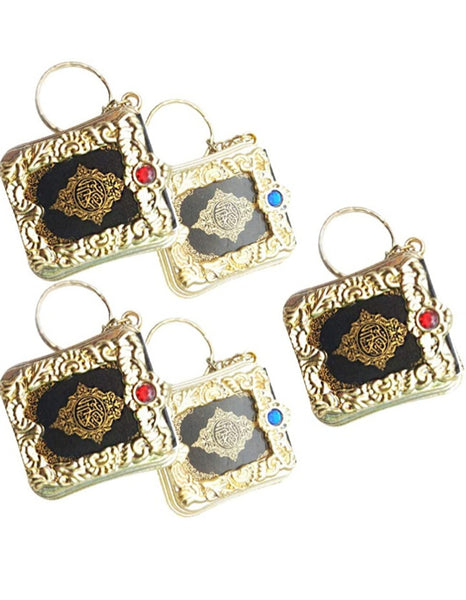 Quran keychain with the smallest kitab.all 114 surah included