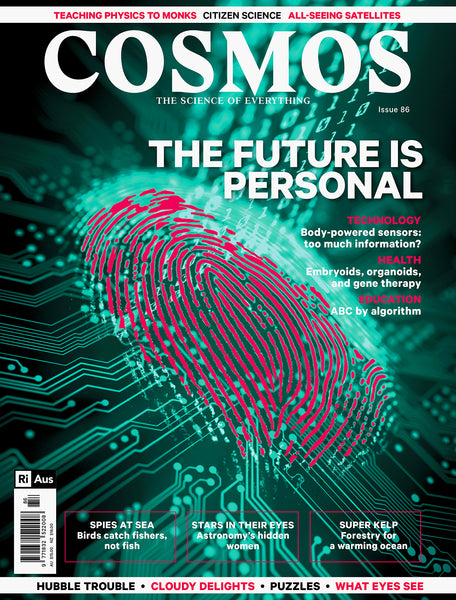 Current issue of Cosmos Magazine