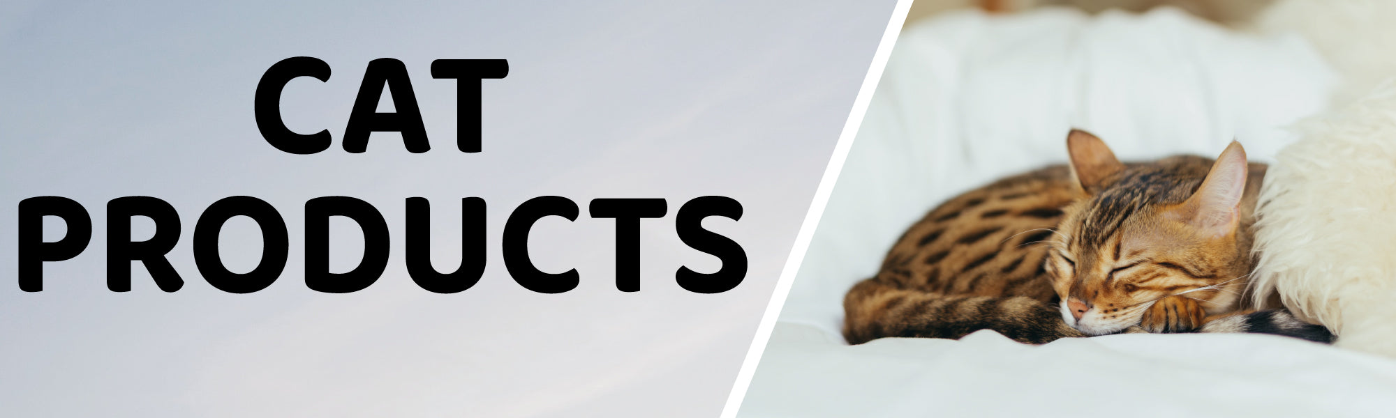 Cat Products Banner