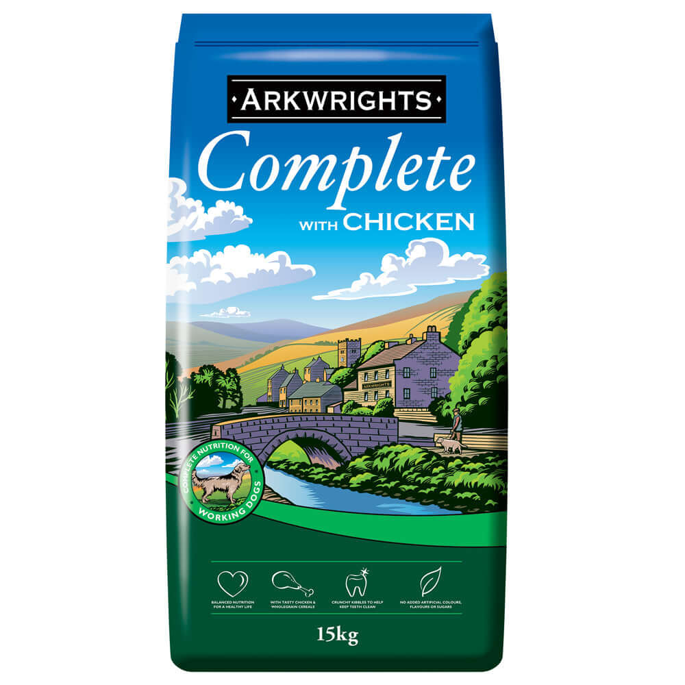 Arkwrights Complete Beef Dry Dog Food
