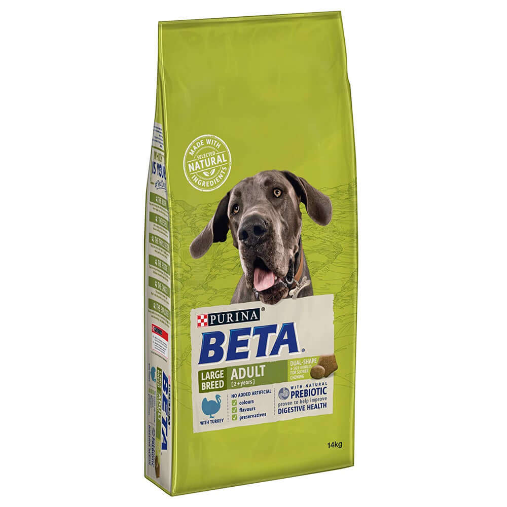 Beta Complete Adult Large Breed Turkey Dry Dog Food