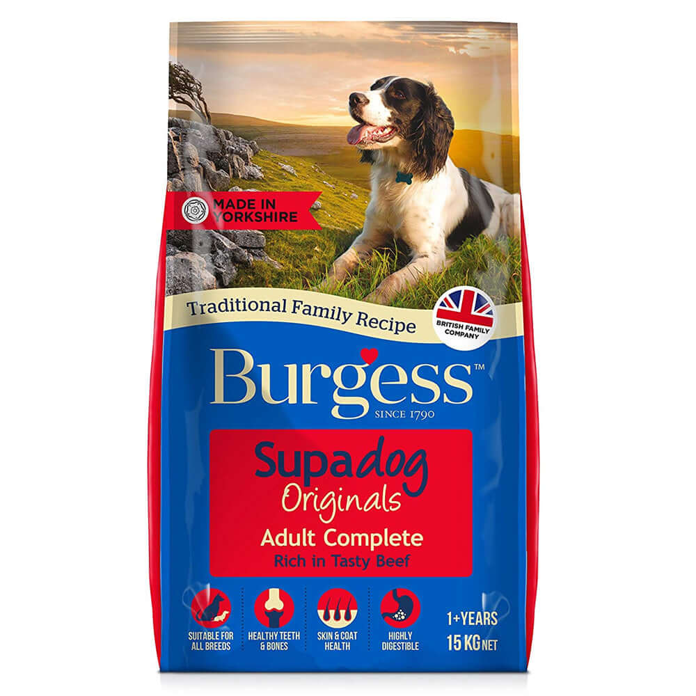 Burgess Dog Beef Complete Dry Dog Food