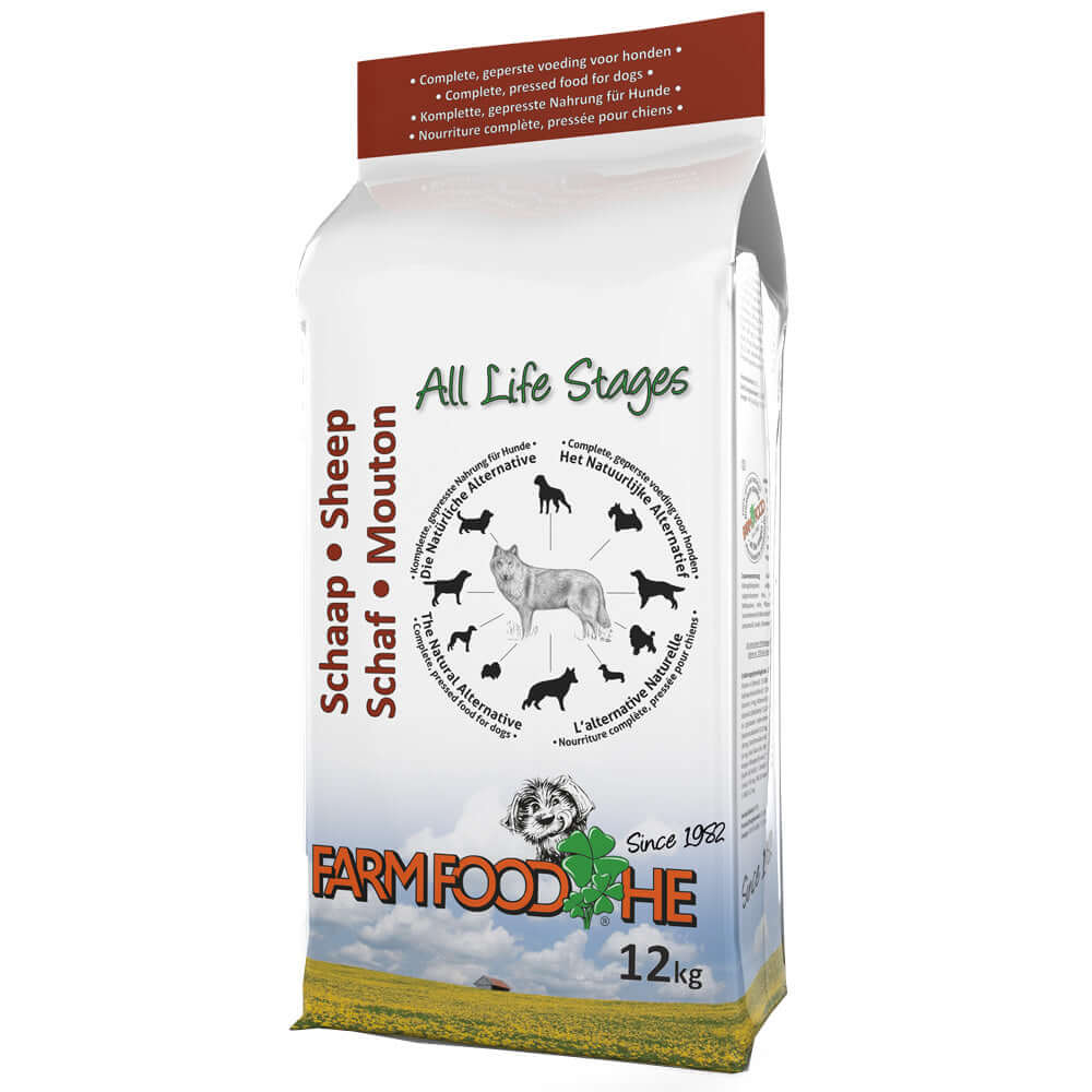 Farm Food HE Cold Pressed Dry Dog Food Sheep
