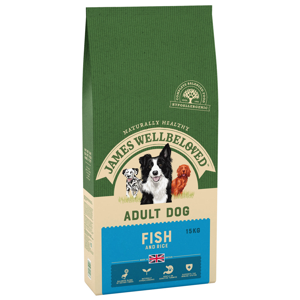 James Wellbeloved Dog Adult Fish & Rice Dry Dog Food