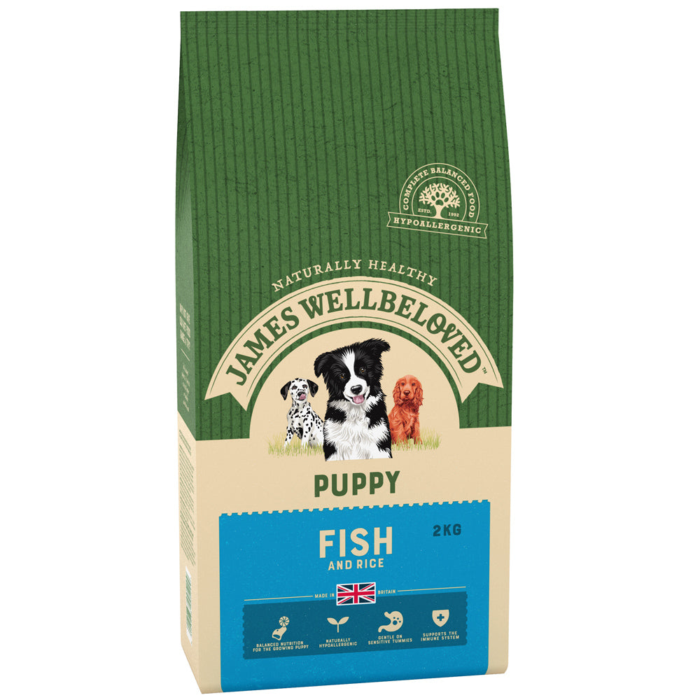 James Wellbeloved Puppy Fish & Rice Dry Dog Food