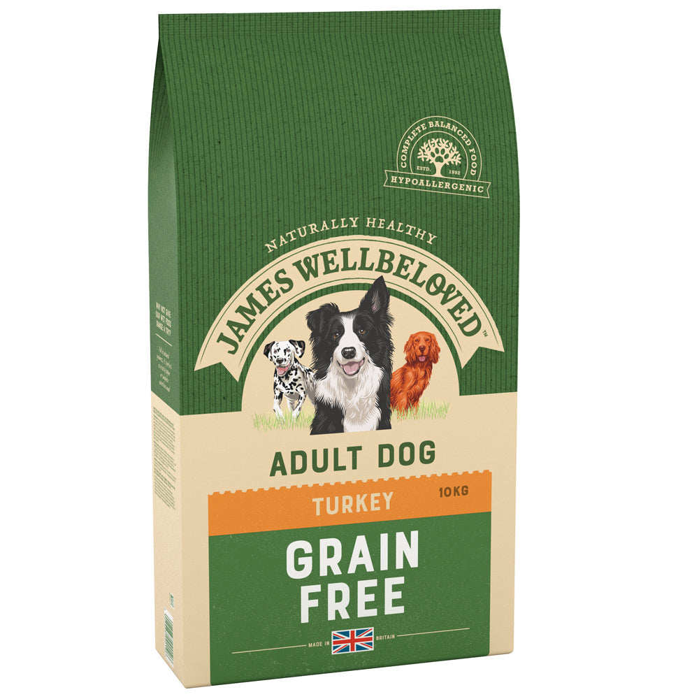 James Wellbeloved Dog Adult Grain Free Turkey & Vegetable Dry Dog Food