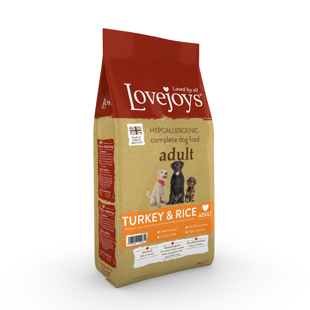 Lovejoys Adult Turkey & Rice