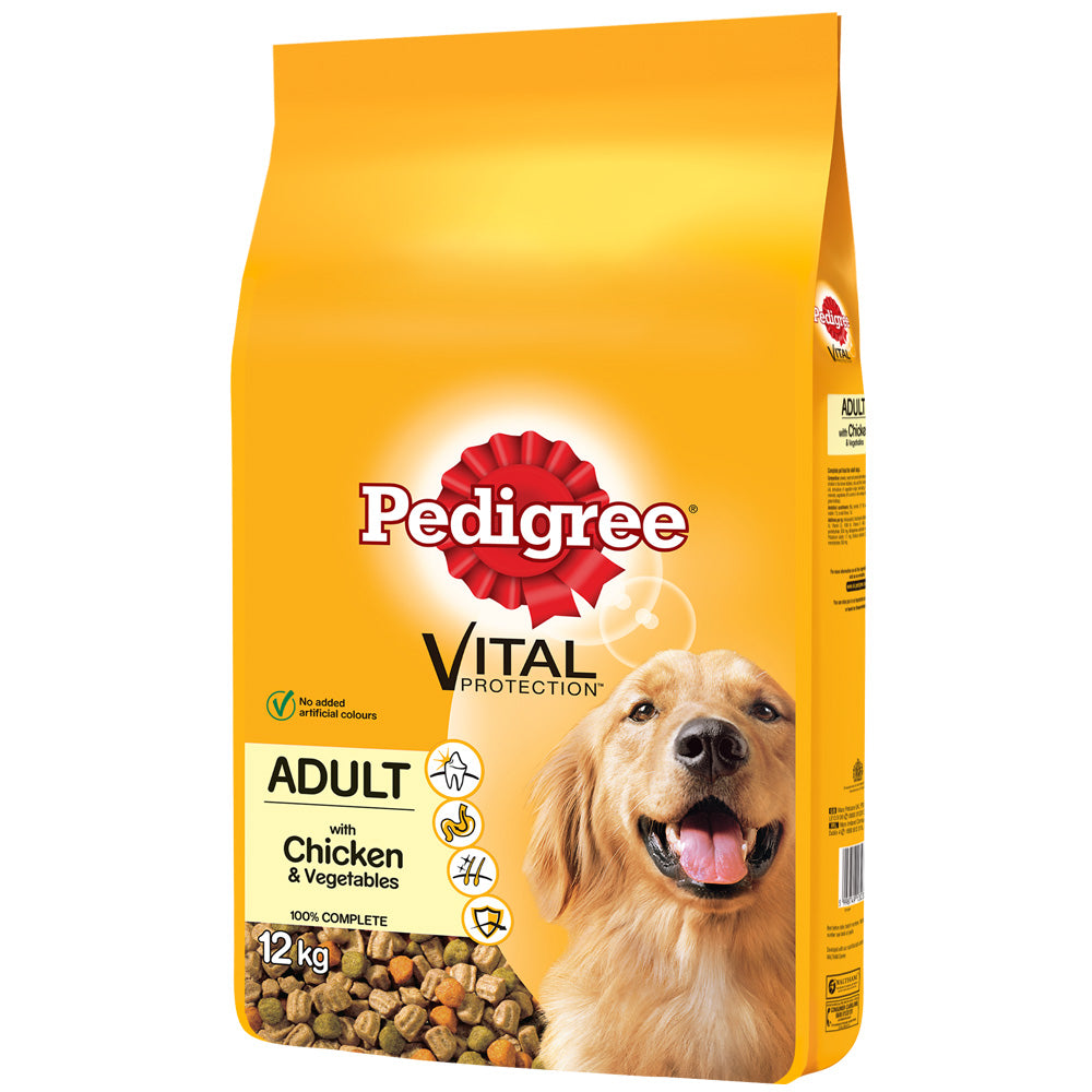 Pedigree Dog Complete Dry with Chicken and Vegetables Dry Dog Food