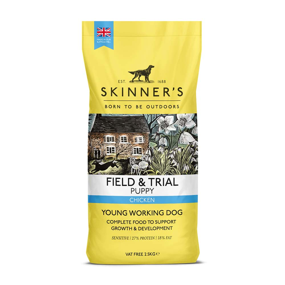 Skinners Field & Trial Puppy Chicken Dry Dog Food