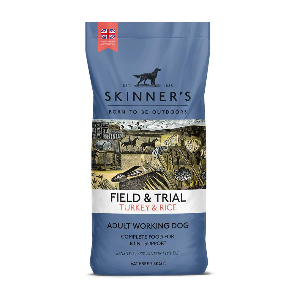 Skinners Field & Trial Turkey & Rice With Joint Aid Dry Dog Food