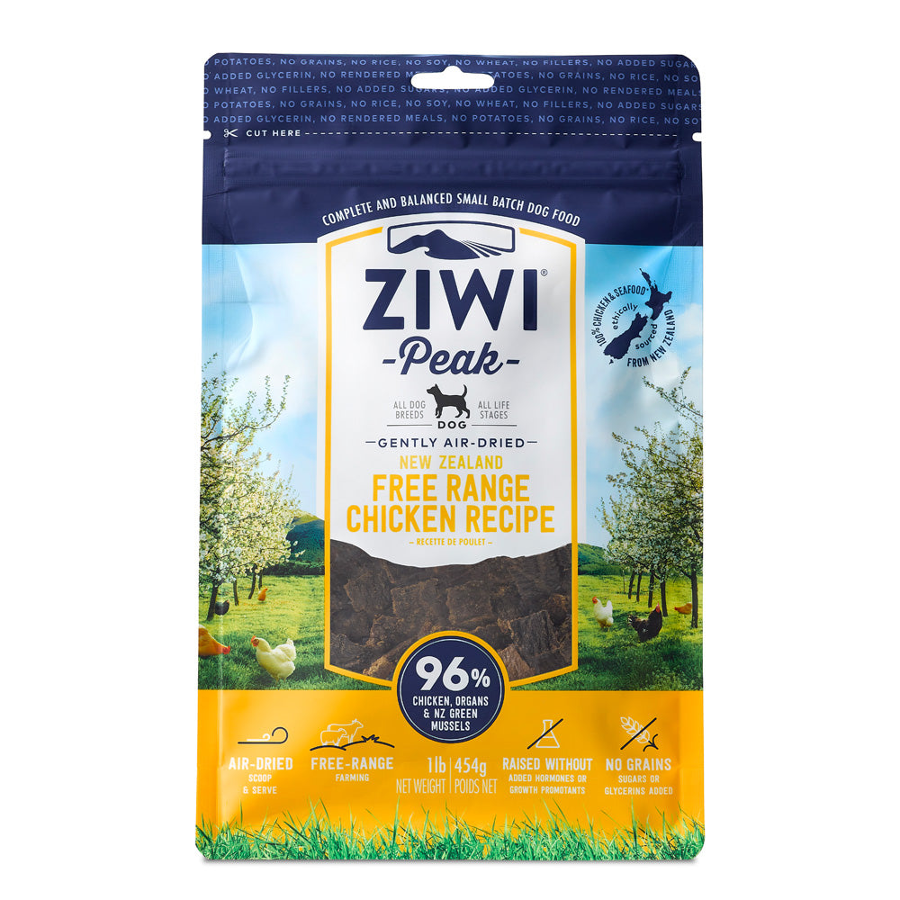Ziwipeak Daily Dog Air Dried Cuisine Chicken Dry Dog Food
