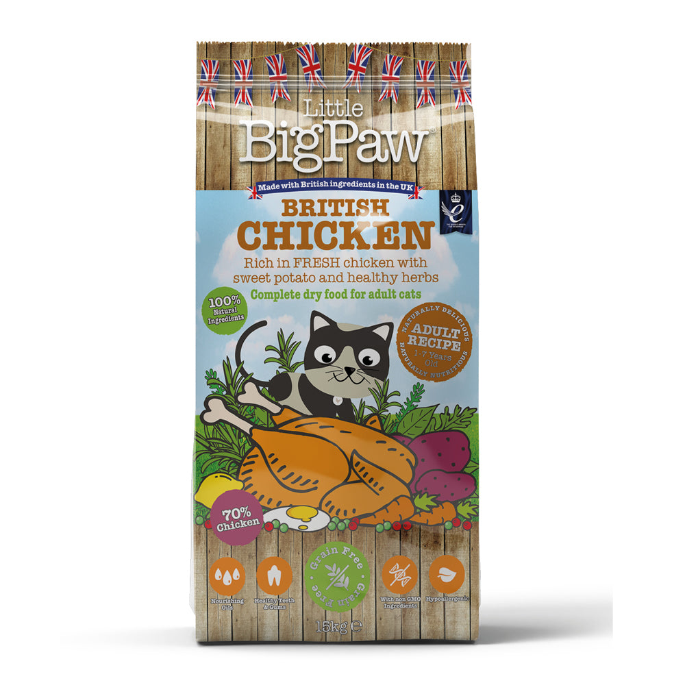 Little Big Paw Adult Cat British Chicken Wet Cat Food