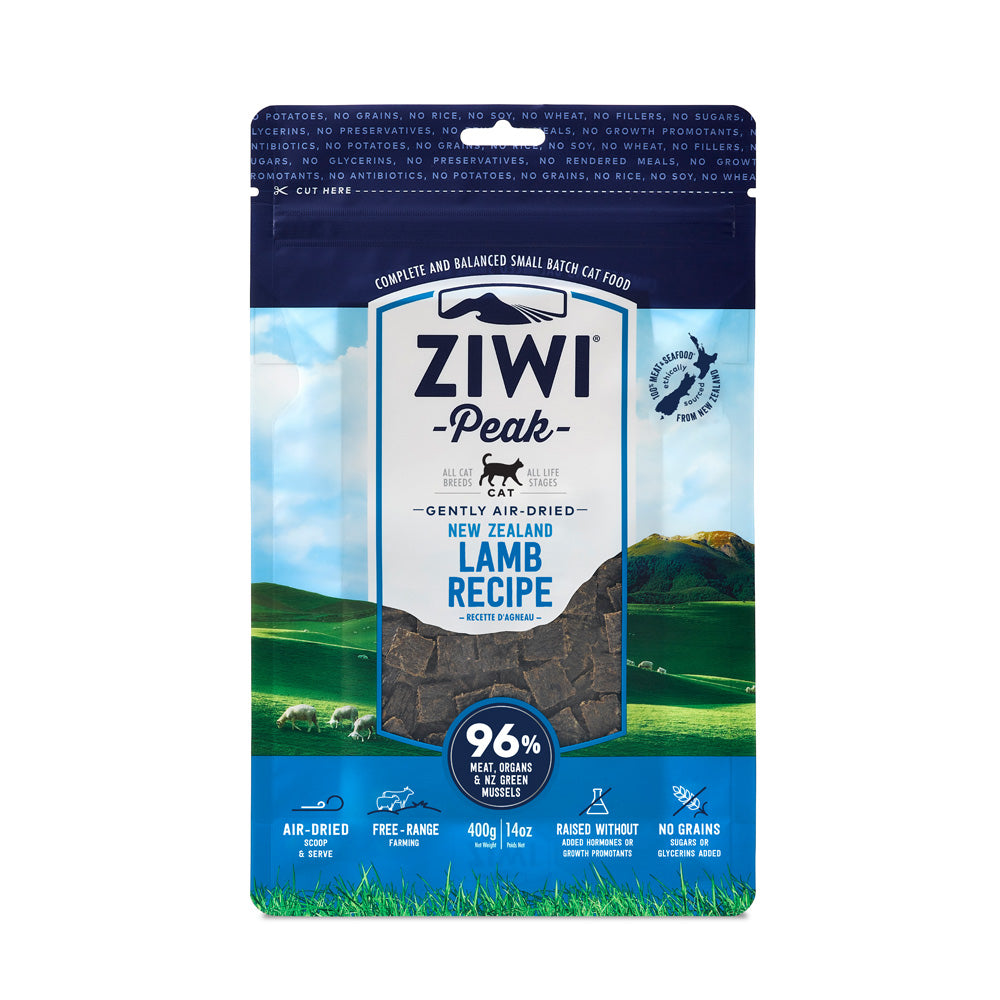 Ziwipeak Daily Cat Air Dried Cuisine Lamb Dry Cat Food