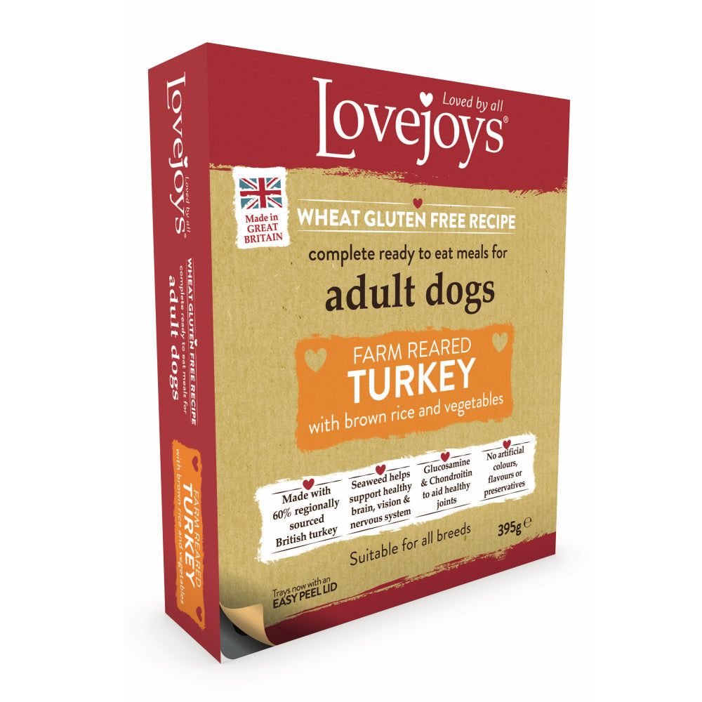 Lovejoys Turkey with Rice & Vegetables Dry Wet Food