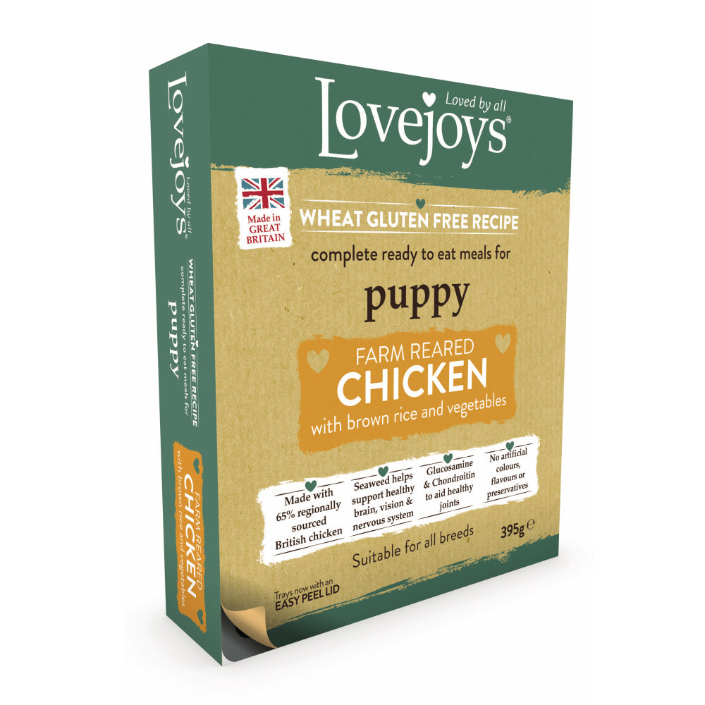 Lovejoys Puppy Chicken with Rice & Vegetables Wet Dog Food
