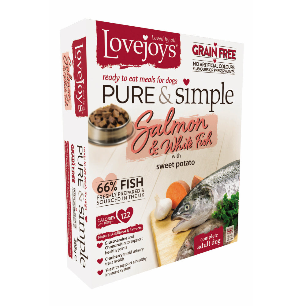 Lovejoys Pure & Simple Salmon Wet Dog Food