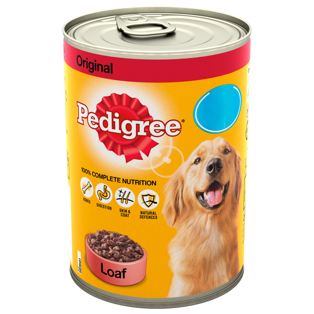 Pedigree Original Loaf Tins Wet Dog Food