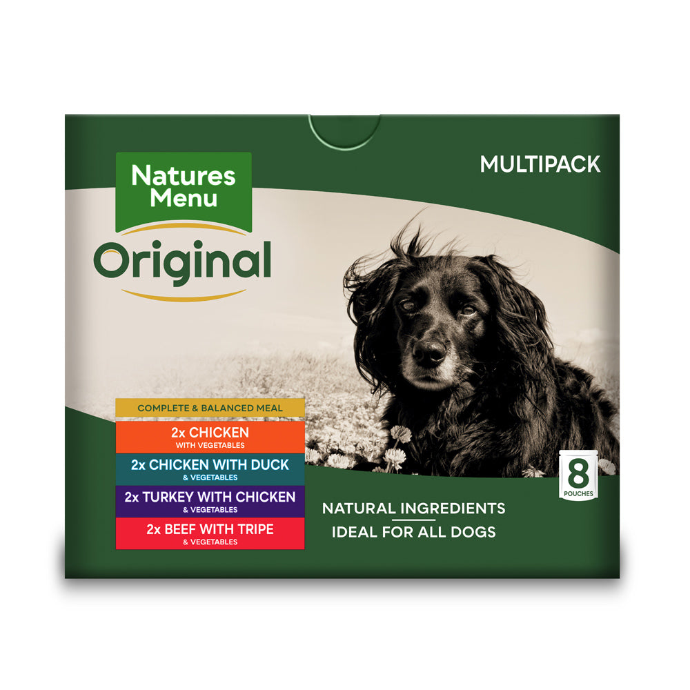 Natures Menu Dog Adult Pouch Multi Pack Wet Dog Food