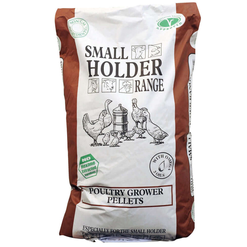20kg Bag of Allen & Page Poultry Growers Pellets