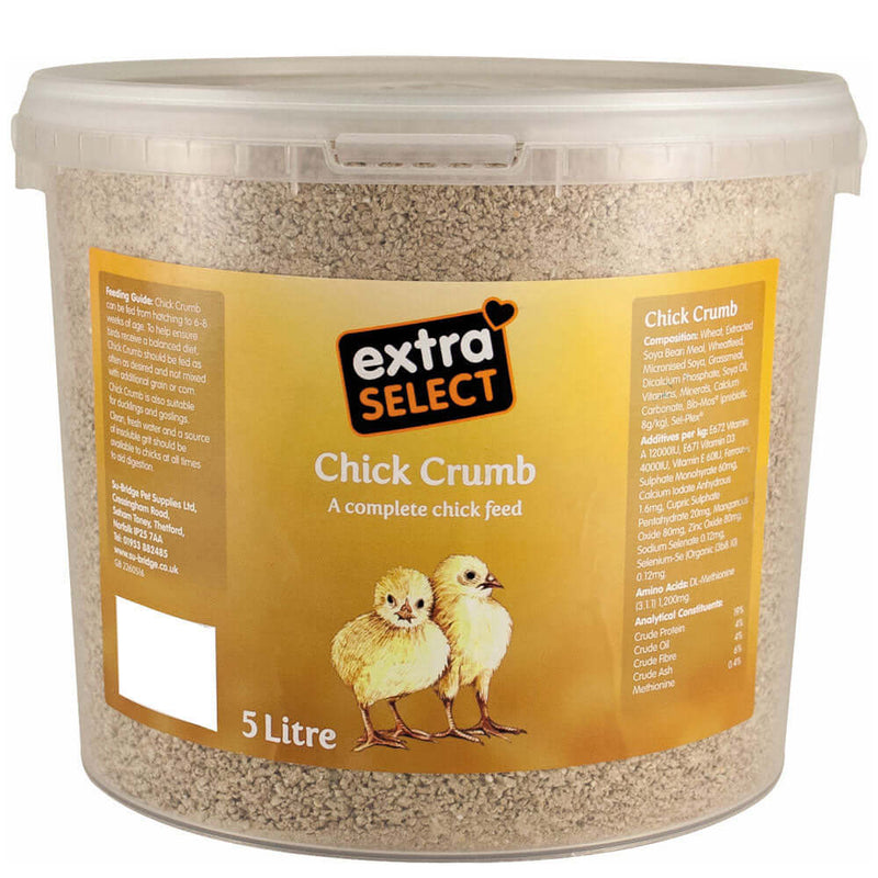 Extra Select Chick Crumbs Bucket