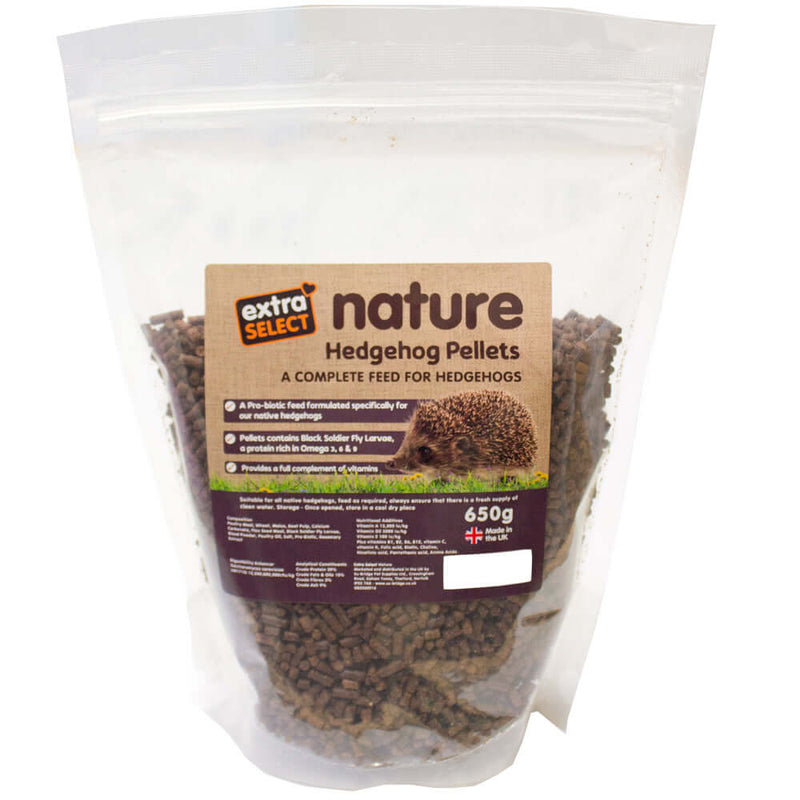 Extra Select Nature Hedgehog Pellets 550g