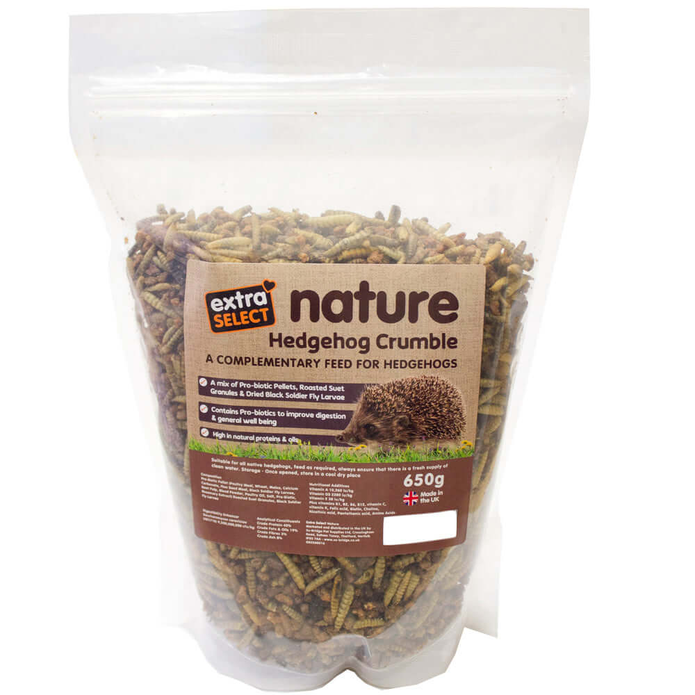 Extra Select Nature Hedgehog Crumble 550g