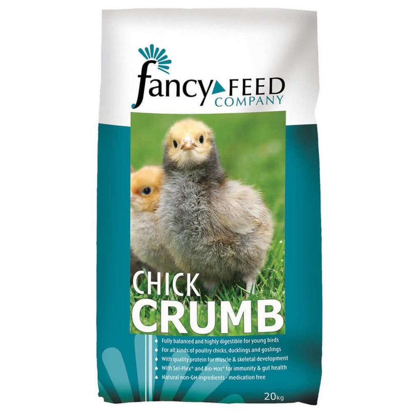 20kg bag of Fancy Feed Chick Crumbs