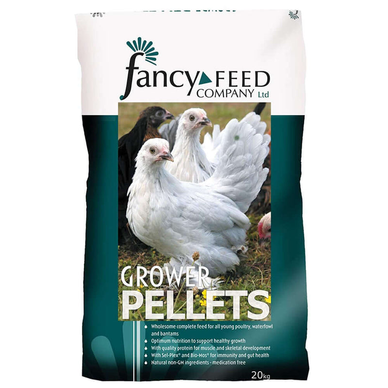 20kg bag of Fancy Feed Growers Pellets
