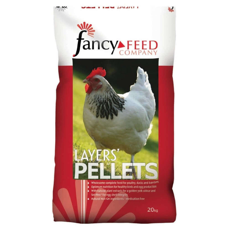 20kg bag of Fancy Feed Layers Pellets