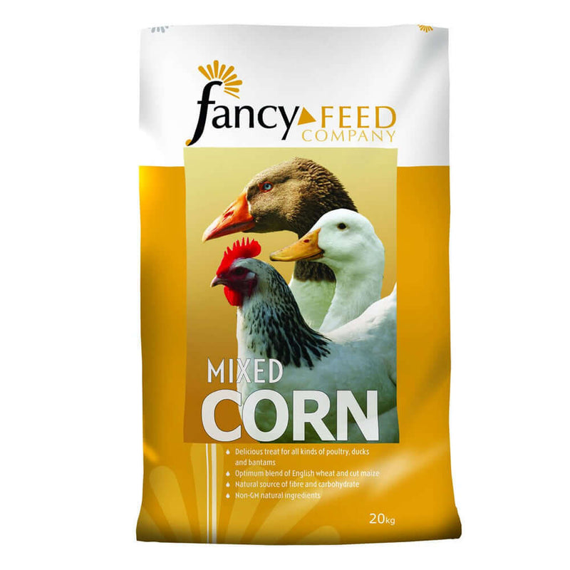 20kg bag of Fancy Feeds Mixed Corn