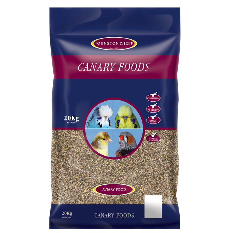 20kg bag of Johnston & Jeff Favourite Mixed Canary