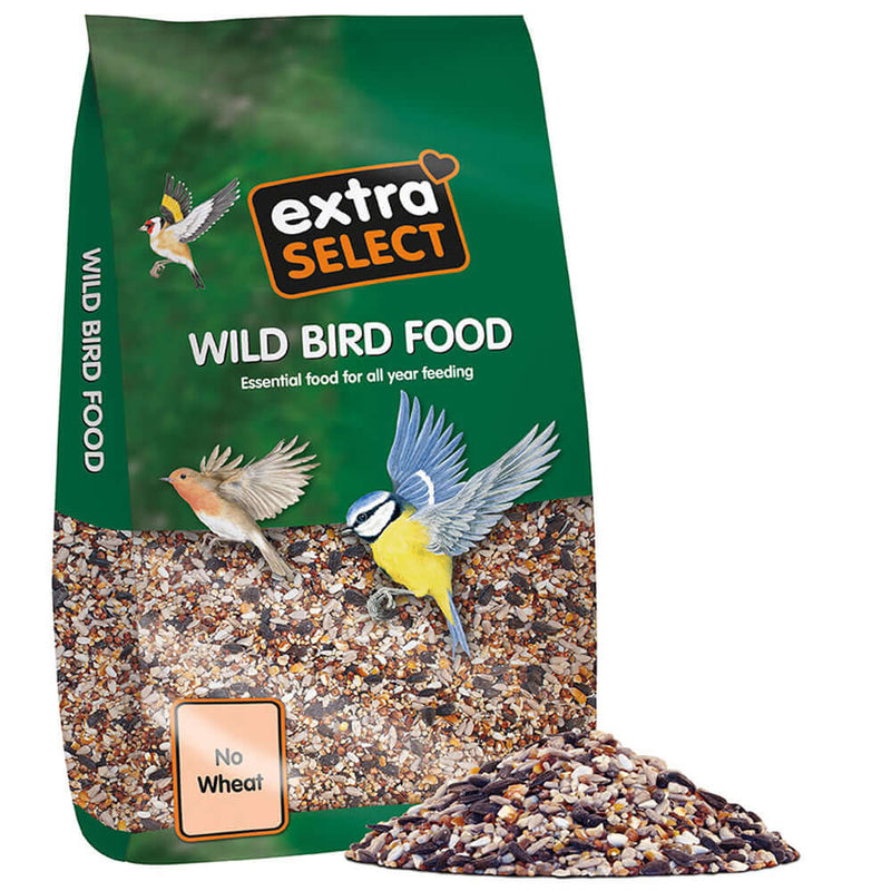 12.75kg bag of Extra Select No Wheat Wild Bird Food