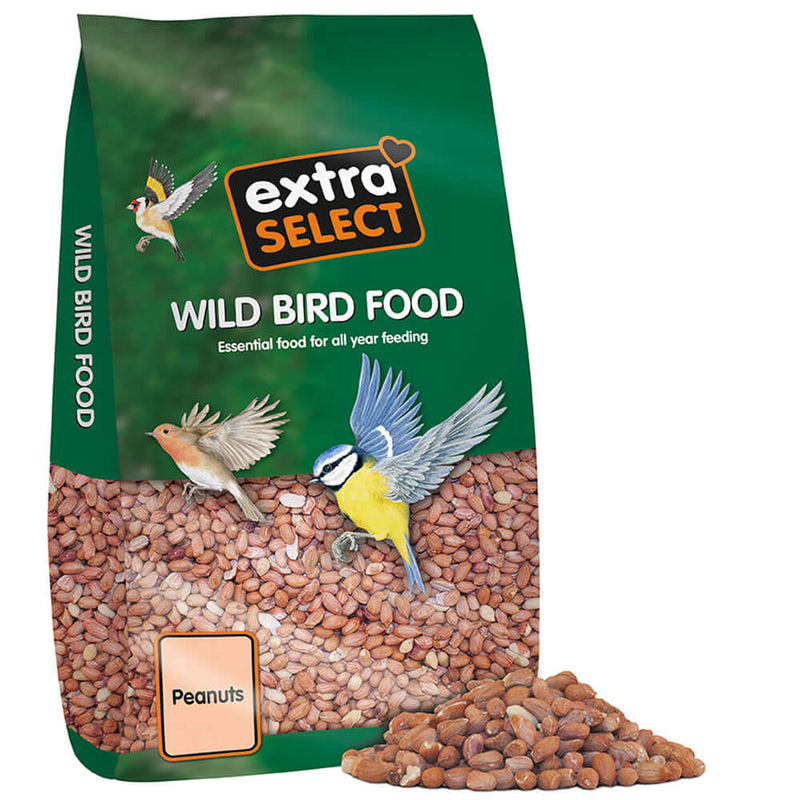 12.75kg bag of Extra Select Wild Bird Food Peanuts
