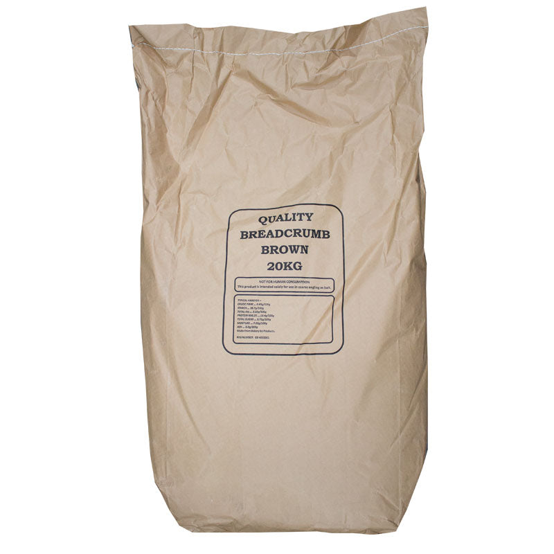 20kg bag of Pure Brown Bread Crumbs