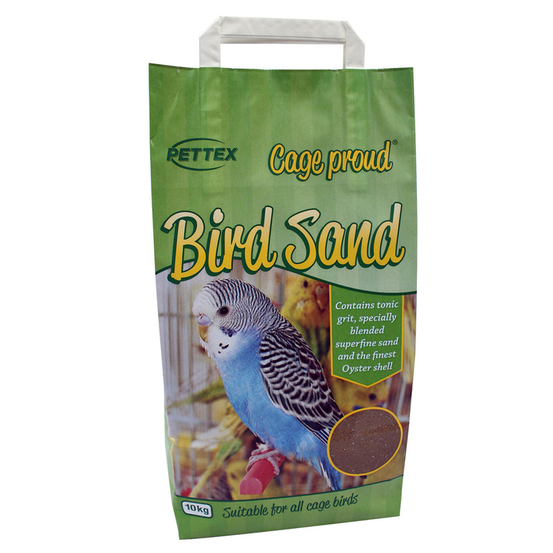 10kg bag of Pettex Superfine Bird Sand
