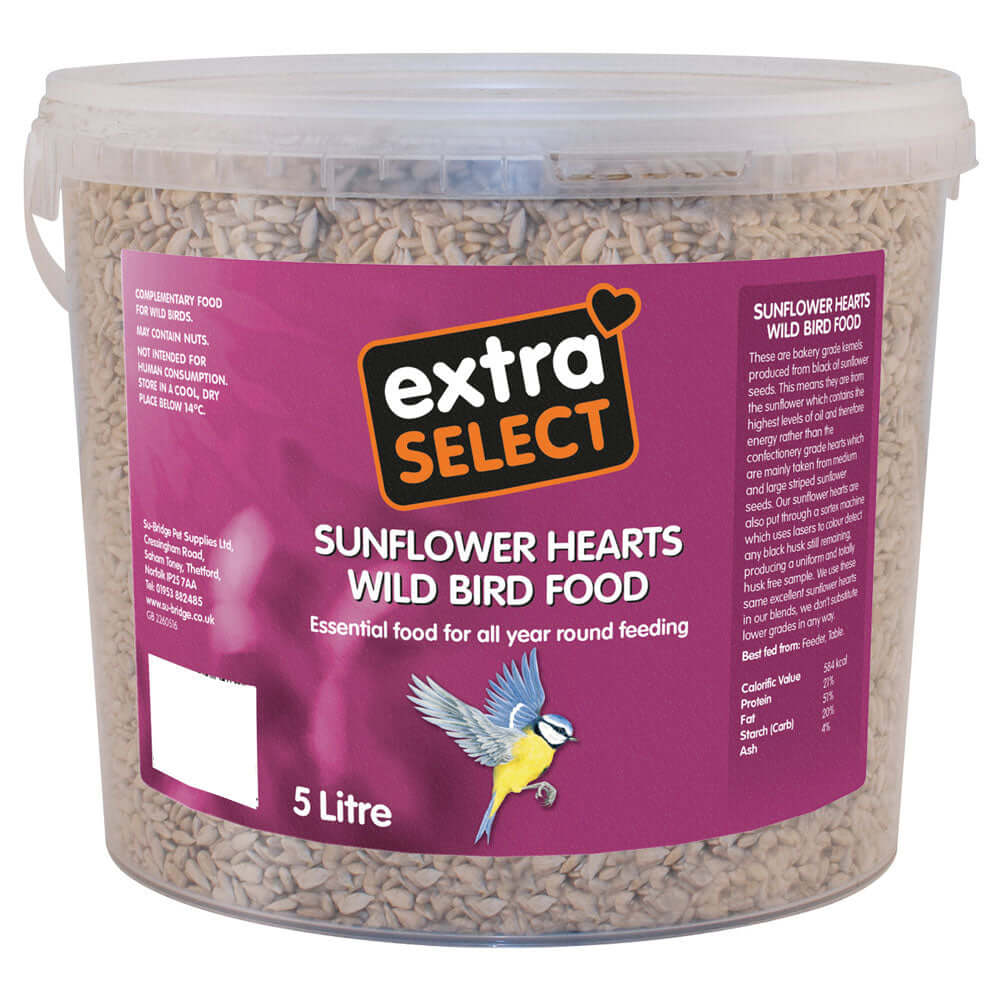 Extra Select Sunflower Hearts for wild birds