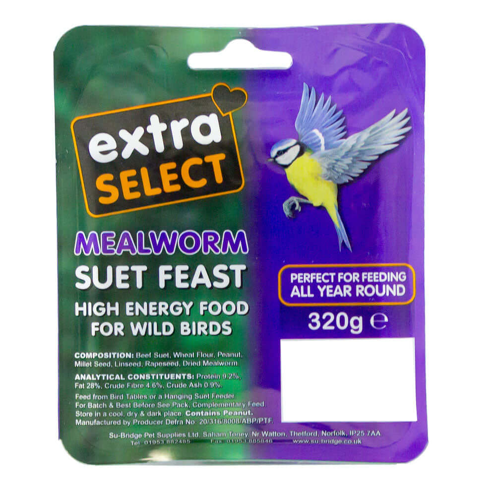 Extra Select Mealworm Suet Block