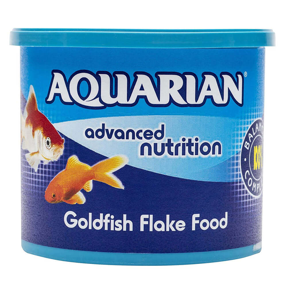 200g tub of Aquarian Goldfish Flake Food