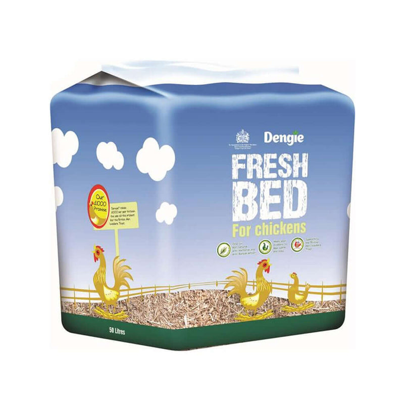 50ltr bag of Dengie Fresh Bed For Chickens