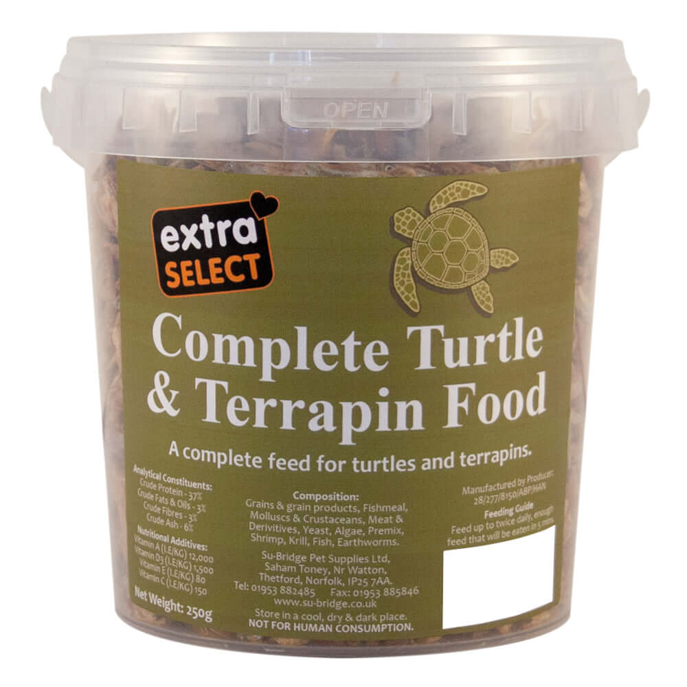 Extra Select Complete Turtle & Terrapin Food