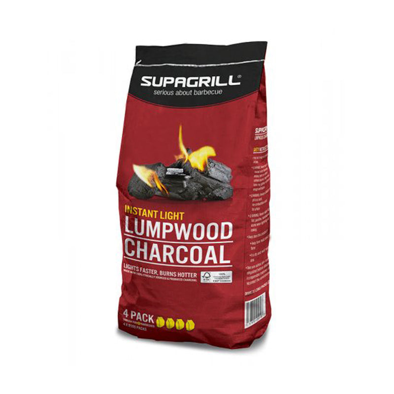 850g Instant Light Lumpwood Charcoal