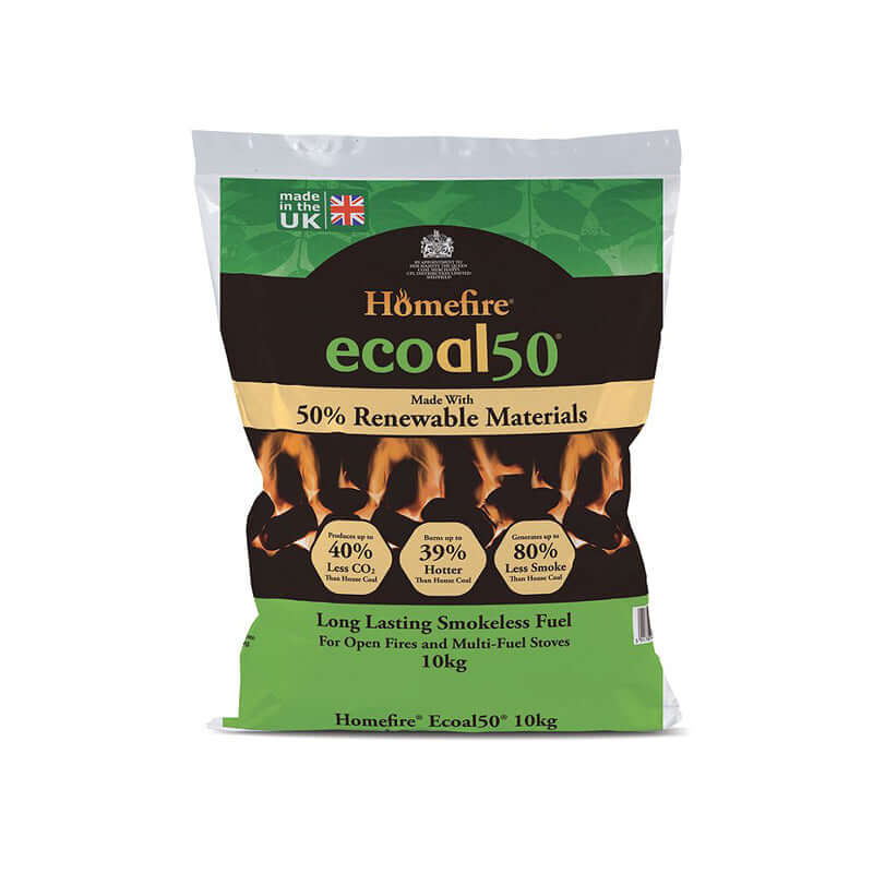 10kg bag of Ecoal 50 Smokeless Coal