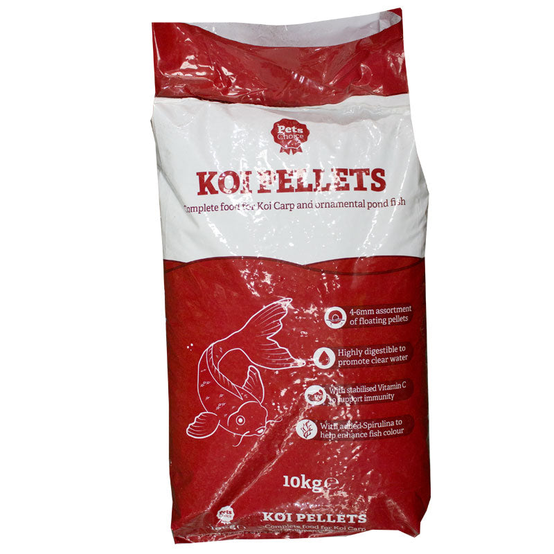 10kg bag of Pets Choice Koi Carp Pellets