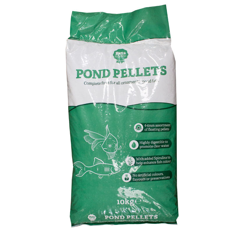 10kg bag of Pets Choice Pond Pellets